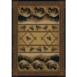 Grizzly Pines Area Rug