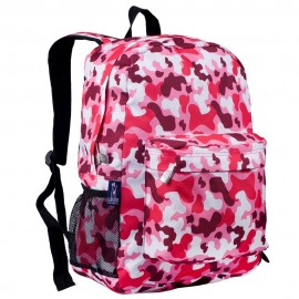 Camo Pink 16 Inch Backpack