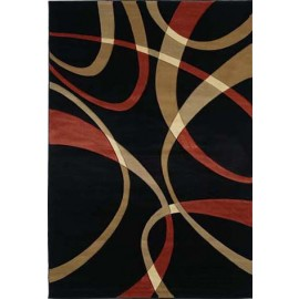"La Chic Terracotta Area Rug (94"" X 126"")"