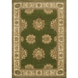 Zara Green Area Rug- Traditional Style Area Rug