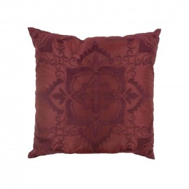 Donna Sharp Spice Postage Stamp Decorative Pillow - 18 X 18
