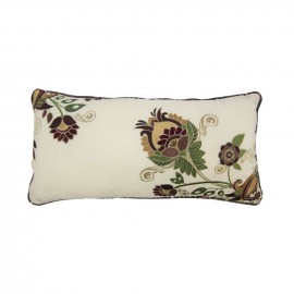 Donna Sharp Spice Postage Stamp Decorative Pillow - 11 X 22