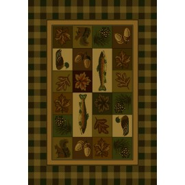 Timberland Area Rug - Cabin Style Area Rug