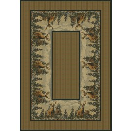 Standing Proud Area Rug - Cabin Style Area Rug
