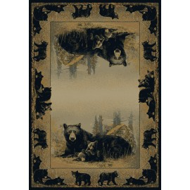 Time To Play Area Rug - Cabin Style Area Rug