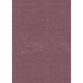 "Brushstrokes Plum Area Rug (63"" X 86"") - Solid Color Area Rugs"