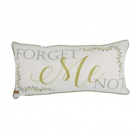 Donna Sharp Forget Me Not Decorative Pillow - 11 X 22
