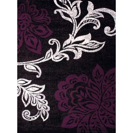 Trouseau Plum Area Rug - Traditional Style Area Rug