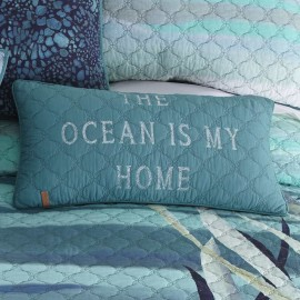 Donna Sharp Summer Surf Decorative Pillow - 11 X 22