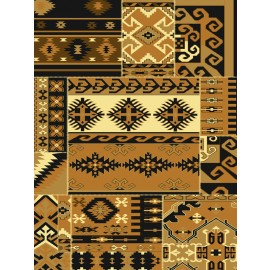 Thunder Gold Area Rug - Traditional Style Area Rug