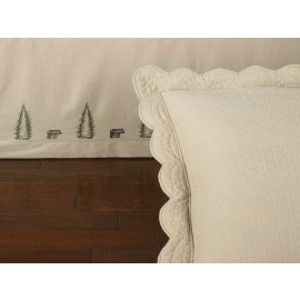 Donna Sharp Bear Creek Twin Bedskirt