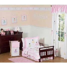 Ballerina Toddler Bedding Set By Sweet Jojo Designs