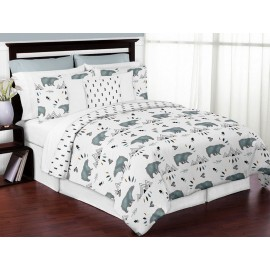 Bear Mountain Comforter Set - 3 Piece Full/Queen Size By Sweet Jojo Designs