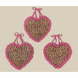 Cheetah Pink Wall Hanging