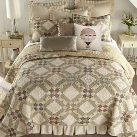 Donna Sharp American Beauty King Size Quilt - 110 X 96
