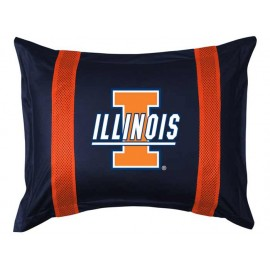 Illinois Fighting Illini Sideline Pillow Sham