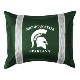 Michigan State Spartans Sideline Pillow Sham