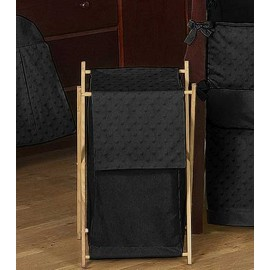 Minky Dot Black Hamper
