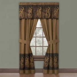 Oak Tree Buckmark Valance