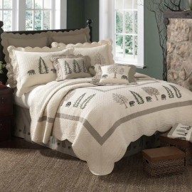 Donna Sharp Bear Creek Full/Queen Size Quilt - 90 X 90