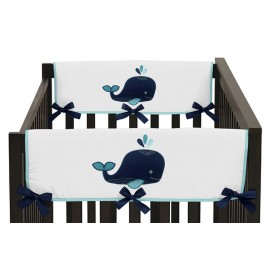 Whale Collection Side Rail Guard Covers - Set of 2