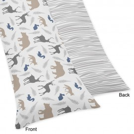 Woodland Animals Body Pillow Cover