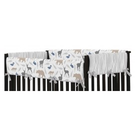 Woodland Animals Collection Side Rail Guard Covers - Set of 2