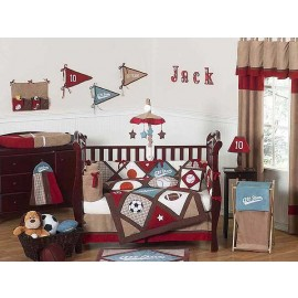 All Star Sports Crib Set by Sweet Jojo Designs