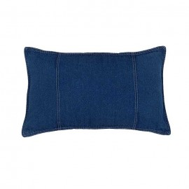 American Denim Oblong Pillow