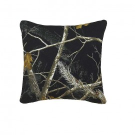 AP Black and White Camo Square Pillow