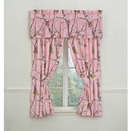 AP Pink Camo Curtain Panels