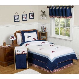 Aviator Comforter Set - 3 Piece Full/Queen Size By Sweet Jojo Designs