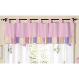 Butterfly Pink & Lavender Valance