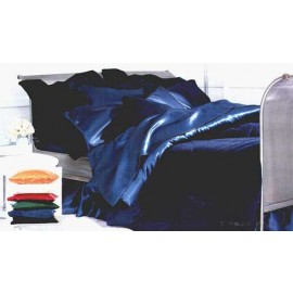 Satin Solid Color Bed in a Bag Set - 300 Thread Count