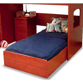 Two-Tone Solid Color Hugger Comforter - Made for Bunkbeds - 20 Color Options