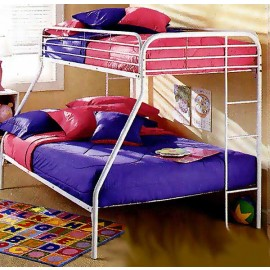 100% Cotton White Bunk Bed Cap - Twin Size - Clearance