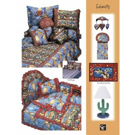 Calamity Print Fitted Sheet - Crib Size