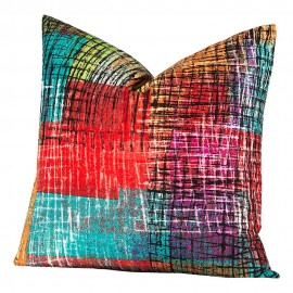 Crayola Etch Square Pillow - 26 X 26 Euro Pillow