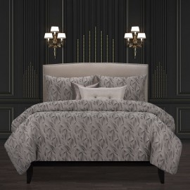 Fine Point Graphite Comforter Set - F. Scott Fitzgerald Signature Collection