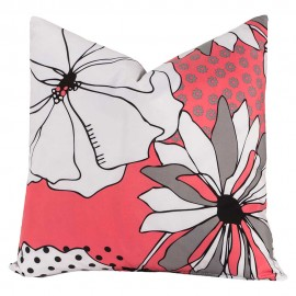 Crayola Flower Patch Square Pillow - 16 X 16 Square
