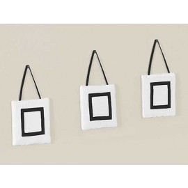 Hotel White & Black Wall Hanging
