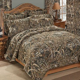 Realtree Max-5 Camouflage Comforter & Sham Set - Queen Size