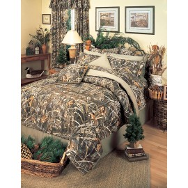 Realtree Max-4 Camouflage Square Pillow