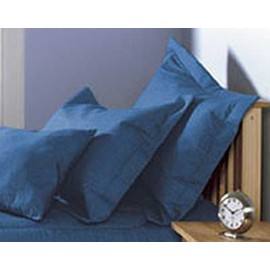 Blue Jean Pillow Sham - Dark Indigo Denim