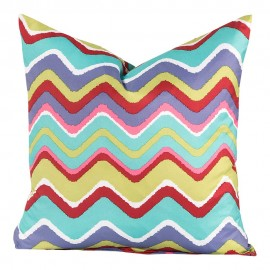Crayola Mixed Palette Square Pillow - 16 X 16 Square