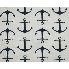 Navy Anchor Hugger Style Comforter by California Kids