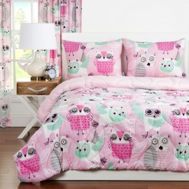 Crayola Night Owl Comforter Set