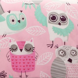 Crayola Night Owl Rod Pocket Curtain Panel (Single Panel)