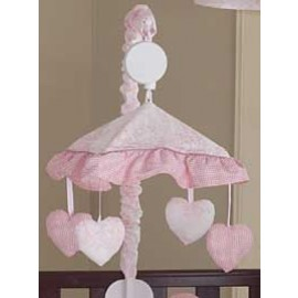 Pink French Toile Mobile
