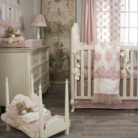 Remember My Love 3 Piece Crib Bedding Set